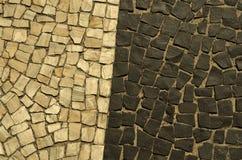 Sidewalk of Rio de Janeiro Royalty Free Stock Photo