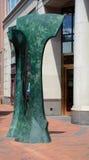 Sidewalk sculpture Stock Photo