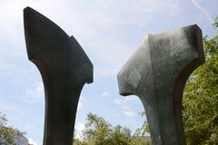 Sidewalk sculpture Royalty Free Stock Photos