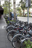 Sidewalk street of Taipei Stock Photo