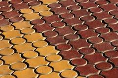 Sidewalk texture Royalty Free Stock Photography
