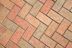 Sidewalk tile Stock Images