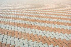 Sidewalk tile Royalty Free Stock Image