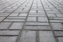 Sidewalk tile Royalty Free Stock Photos