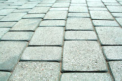 Sidewalk tile Royalty Free Stock Images