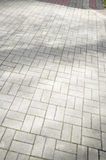 Sidewalk tile Royalty Free Stock Images