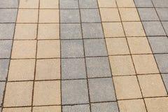 Sidewalk tile texture Royalty Free Stock Image