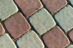 Sidewalk tiles Stock Photography