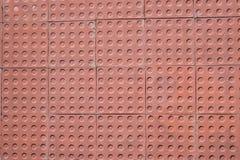 Sidewalk tiles. Sidewalk tile regular colors and geometric shapes Stock Image