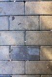 Sidewalk tiles vertical background. Sidewalk tiles, vertical image, background, repeating Royalty Free Stock Image