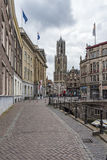Sidewalk at Utrecht Stock Photos
