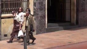Sidewalks, Curbs, Walkways, Urban, Pedestrian Paths stock video