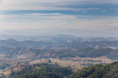 Sideway Landscape of Umphang in Tak Province, Thailand royalty free stock photography