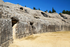 Sideways italica Coliseum Stock Photography