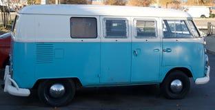 Sideways Volkswagen Antique Vehicle Royalty Free Stock Images