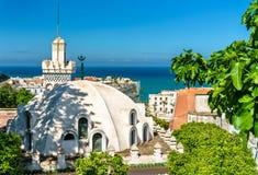 Sidi Abder Rahman Mosque på Casbahen av Algiers, Algeriet royaltyfria foton
