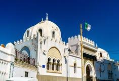 Sidi Abder Rahman Mosque på Casbahen av Algiers, Algeriet Arkivfoton