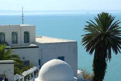 Sidi Bou besagt lizenzfreie stockfotos