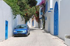 Sidi Bou besagt, Tunesien Lizenzfreies Stockfoto