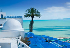 Sidi Bou besagt, Tunis lizenzfreie stockfotos