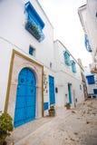 Sidi Bou detto, Tunisia Immagine Stock Libera da Diritti