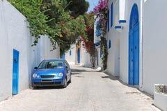 Sidi Bou dicho, Túnez Foto de archivo libre de regalías