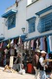 Sidi Bou dito, Tunísia Foto de Stock Royalty Free