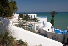 Sidi-Bou-gezegd, Tunesië Royalty-vrije Stock Afbeeldingen