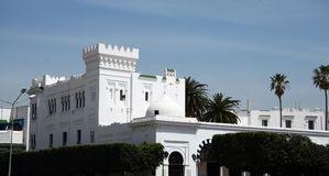 Sidi Bou said - Castle - Royalty Free Stock Photography