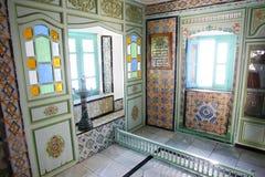 Sidi Bou Said house interior Stock Photo