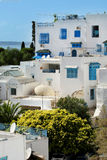 Sidi Bou Said houses Royalty Free Stock Images