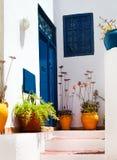Sidi Bou Said La Gulett, Tunesien Stockfotos