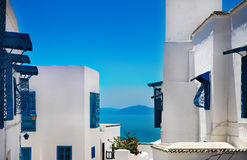 Sidi Bou Said. La Gulett, Tunisia Royalty Free Stock Photo