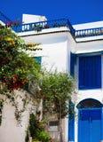 Sidi Bou Said. La Gulett, Tunisia Royalty Free Stock Photo