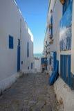 Sidi Bou Said. La Gulett, Tunisia Royalty Free Stock Photos