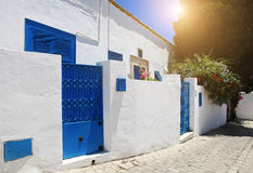Sidi Bou Said La Gulett, Tunisie Photos stock