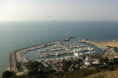 Sidi bou said marina Royalty Free Stock Photos