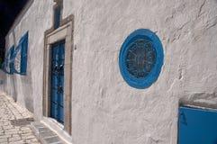 Sidi-Bou-Said, Tunisia. Architecture of Sidi-Bou-Said, Tunisia Stock Photography