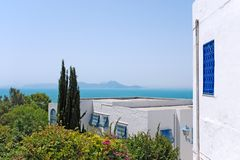 Sidi Bou Said, Tunisia Stock Photography