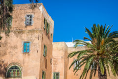 Sidi Bou Said - typical building Tunisia Stock Photography