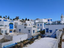 Sidi Bou Said view Royalty Free Stock Photography