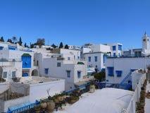 Sidi Bou Said view royalty free stock photography