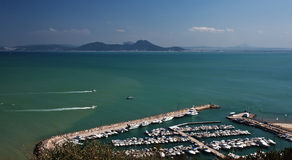 Sidi bou said vista Stock Image