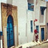Sidi-Bu-dit Photo stock
