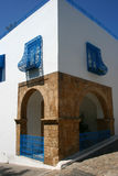 Sidi Bu Said. Tunis. One of houses in a city Sidi Bu Said. Tunis Royalty Free Stock Photo