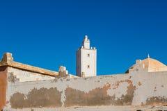 Sidi Ifni på kusten av Marocko Royaltyfri Foto