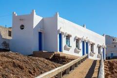 Sidi Ifni på kusten av Marocko Fotografering för Bildbyråer