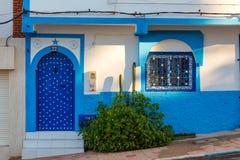 Sidi Ifni på kusten av Marocko Arkivfoto