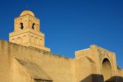 Sidi Oqba Mosque Stock Photo