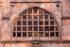 Sidi Saiyyed moské, Ahmadabad Arkivfoton
